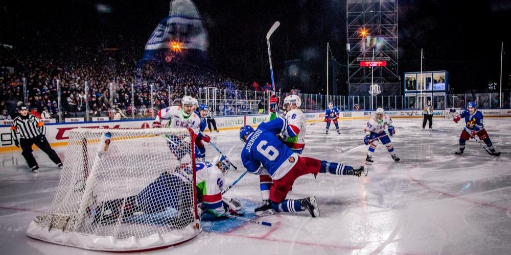 «Зимняя классика» КХЛ может пройти на 60-тысячнике