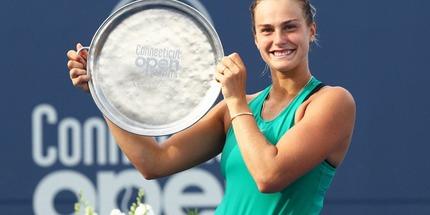 Арина Соболенко выиграла турнир в Нью-Хейвене