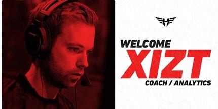 Xizt стал тренером и аналитиком Heroic по CS:GO