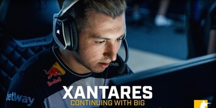 Турок XANTARES продлил контракт с BIG до конца 2021 года