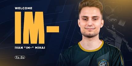 Румын Иван iM Михай присоединился к GamerLegion по CS:GO