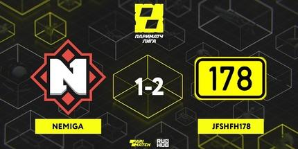 Микс Jfshfh178 расположился на первом месте Parimatch League по Dota 2