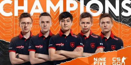 Gambit Esports стала чемпионом на Nine to Five #6 по CS:GO