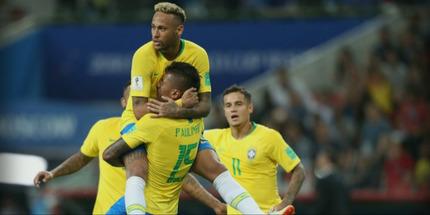 Бразилия обыграла Сербию и вышла в плей-офф