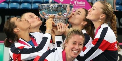Сборная Франции выиграла Кубок Федерации