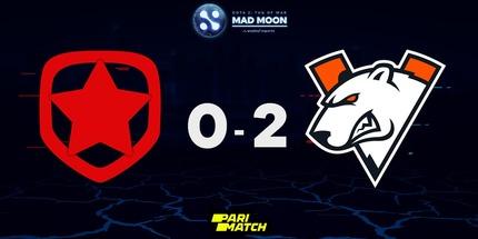 Virtus.pro победила Gambit и сыграет в финале виннеров WePlay! Dota 2 Tug of War: Mad Moon