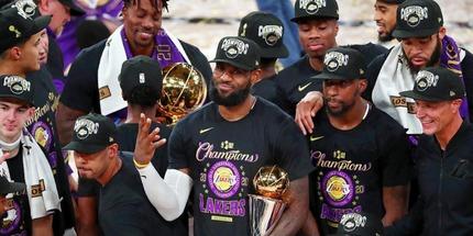 Леброн Джеймс - МВП Финала НБА