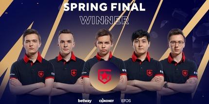 Игроки Gambit Esports стали чемпионами BLAST Premier: Spring Finals 2021