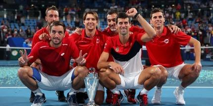 Сборная Сербии выиграла АТР Cup