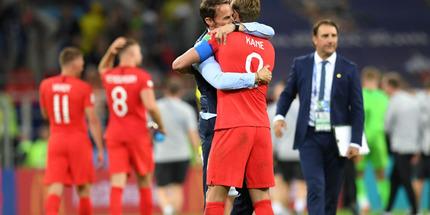Англия - Хорватия: прагматичный футбол