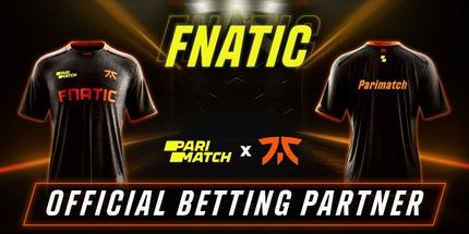 Parimatch стал партнёром шведской команды Fnatic по CS:GO