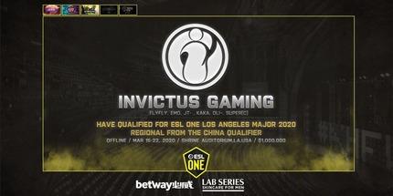 Invictus Gaming и RNG вышли на ESL One Los Angeles 2020 по Dota 2