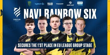 Natus Vincere выиграла 1-й этап European League 2021 по Rainbow Six Siege