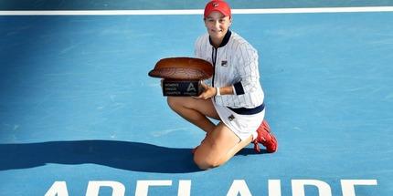 Эшли Барти стала чемпионкой турнира в Аделаиде