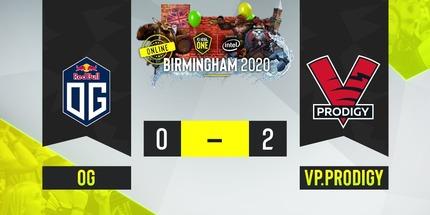 VP.Prodigy победила OG в третьем матче на ESL One Birmingham по Dota 2