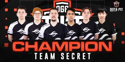 Team Secret победила на OGA Dota PIT Season 3: Europe/CIS