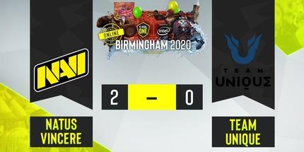 NAVI и VP.Prodigy выиграли в матчах ESL One Birmingham 2020 по Dota 2