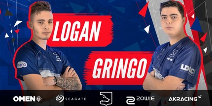 LOGAN и Gringo переведены в запас LDLCOL по CS:GO