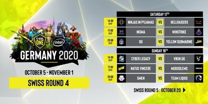 HellRaisers и NiP: жеребьёвка 4-го раунда на ESL One Germany 2020 по Dota 2