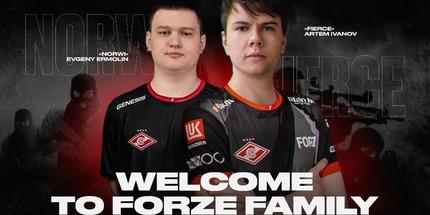 Norwi и Fierce вошли в обновлённый состав forZe по CS:GO