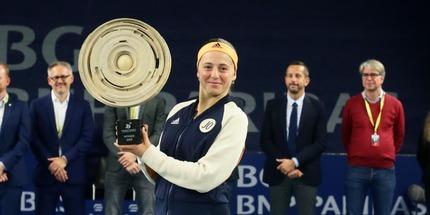 Елена Остапенко выиграла турнир в Люксембурге