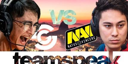 Видео: тимспик игроков Syman в матче против NAVI по CS:GO