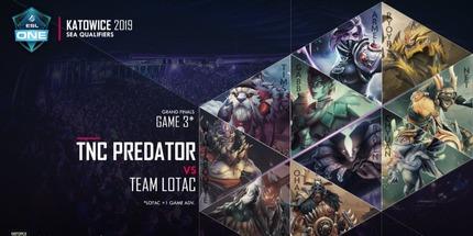 TNC Predator выиграла квалификации в Юго-Восточной Азии и выступит на ESL One Katowice 2019