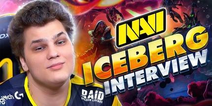 Видео: интервью Iceberg из NAVI о мейджоре и 2-м сезоне лиги DPC 2021