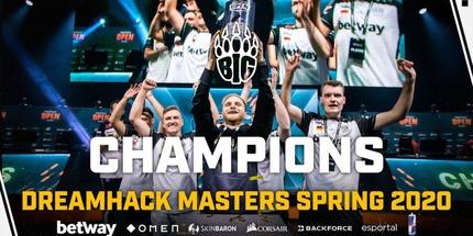 Игроки BIG — чемпионы DreamHack Masters Spring: Europe по CS:GO