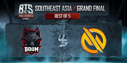 Motivate.Trust Gaming выиграла на BTS Pro Series S3: Southeast Asia по Dota 2
