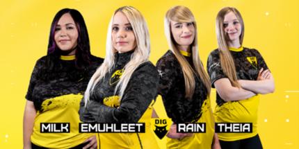 Женская команда Dignitas по CS:GO будет выступать на турнирах по Valorant