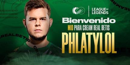 Россиянин Phlaty стал игроком испанской команды Cream Real Betis
