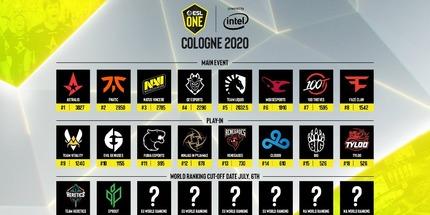 NAVI, Astralis и FaZe Clan получили инвайты в основную стадию ESL One Cologne 2020 по CS:GO