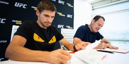 UFC® и Parimatch объявили о долгосрочном партнерстве
