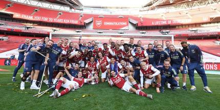 Арсенал выиграл Кубок Англии