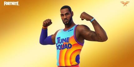 Звезда НБА Леброн Джеймс получил собственный образ в Fortnite