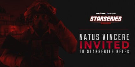 Natus Vincere и North приглашены на StarSeries & i‑League CS:GO Season 8