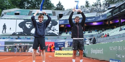 Андрей Рублёв выиграл турнир в Кицбюэле