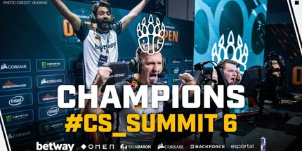 BIG стала чемпионом cs_summit 6 Online по CS:GO для Европы