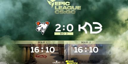 Virtus.pro одолела K23 в своей дебютной игре на EPIC CIS League Spring 2021
