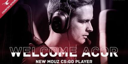 Официально: acoR стал новичком mousesports. Он заменил chrisJ