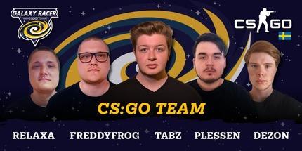Шведский микс Japaleno по CS:GO присоединился к Galaxy Racer Esports