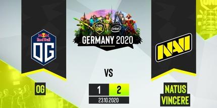NAVI победила OG и вышла в полуфинал ESL One Germany 2020 по Dota 2