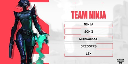 Стример Ninja сыграет в онлайн-турнире T1 x NSG VALORANT Showdown