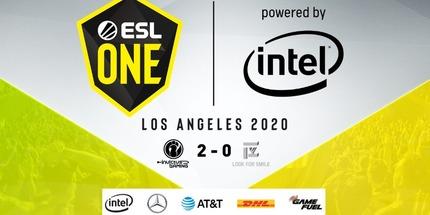 Четыре китайских команды разыграют три слота на ESL One Los Angeles 2020 по Dota 2