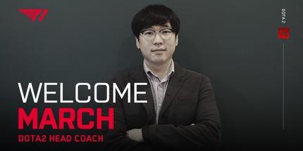 Тхэ Вон March Пак стал главным тренером состава T1 по Dota 2
