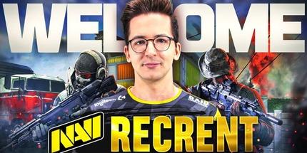 Стример Recrent стал контент‑креатором NAVI по Call of Duty: Warzone