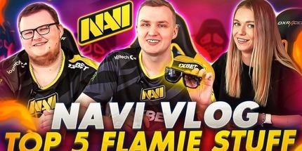 Видео: NAVIVLOG по CS:GO — топ-5 вещей flamie и сплетни с BoombI4