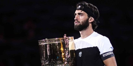 Николоз Басилашвили выиграл турнир в Пекине