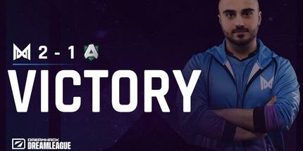 Nigma выиграла у Alliance в дебютной игре на DPC-турнире для Европы
